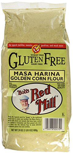 Bob's Red Mill Gluten Free Golden Masa Harina Corn Flour, 24-ounce