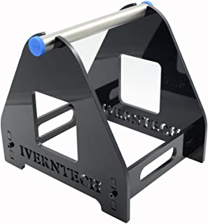 Iverntech 1 Spool Acrylic 3D Printer Filament Holder Mount Rack for PLA, ABS, Wood, TPU, Nylon, Flexible Materials