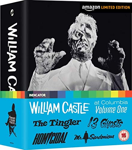 William Castle at Columbia Volume One - Limited Edition Blu Ray [Blu-ray]