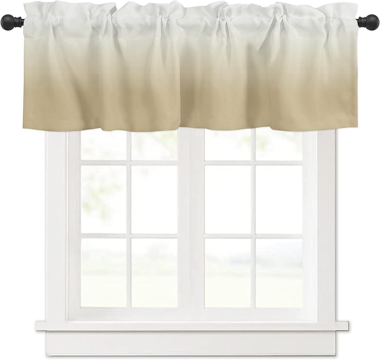 Ombre Yellow Gradient Color Curtain Treatme Windows for Sales Valances favorite