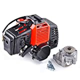 Performance Engine 49cc w/Gear Reduction Transmission 20T T8F Sprocket replacement for Pocket Bike Gas Scooter Mini ATV ScooterX Dirt Dog Xracer