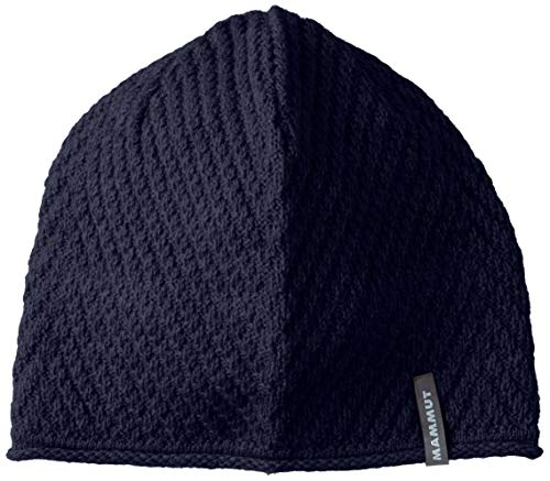 Mammut roseg – Bonnet, Mixte Adulte, Bleu (Marine)