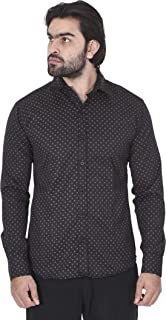 Super weston Dotted Shirts for Men for Normal Wear Use,Available Sizes M=38,L=40,XL=42