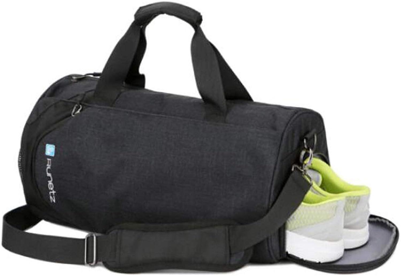 Hongyuantongxun Sports Bag, Male Waterproof Training Bag, Wet And Dry Separation Largecapacity Oneshoulder Mobile Travel Backpack, Waterproof Largecapacity Fitness Bag, Large Size  432424cm Safet