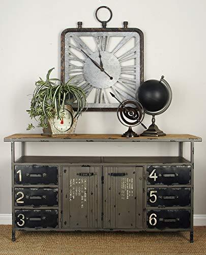 Deco 79 55484 Metal Storage Cabinet, 56