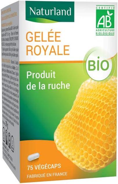 Naturland Organic Free shipping / New Royal 75 Jelly Vegecaps free