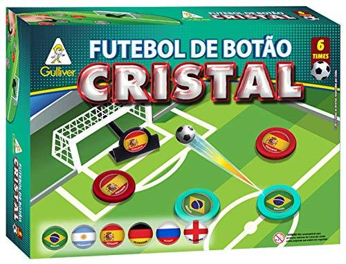 Futebol Botão Cristal com 6 Seleções Sortidos Gulliver