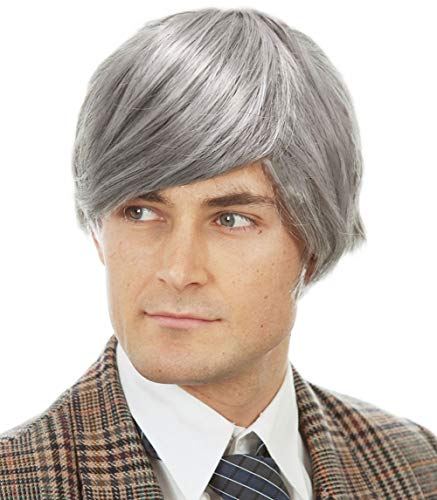 Old Man Wig Fits Adults and Kids