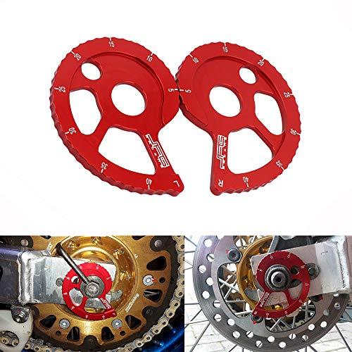 Kit d'ajusteur de chaîne CNC pour Honda CRF 150F 03-17 / CRF 230F 03-17/CRF 230L 06-10 / CRM250 AR 97-98 / XLR250R 90-98/ XR250R 89-04 / XR 250L 911150L -95/XR 400R 96-04/XR 600R 88-00