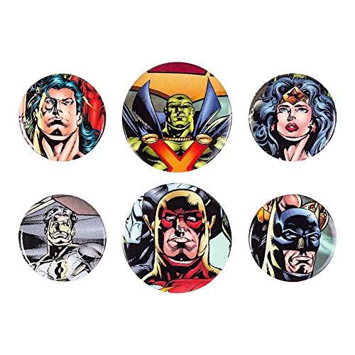 GB Eye LTD, DC Comics, Justice League - League, Set de Boutons