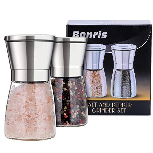 Come da immagine 2pcs 100/ml Bottiglia di sale e pepe set 2/pezzi da cucina in plastica traslucida spezia contenitore corpo shaker