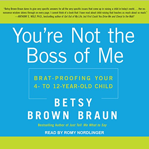 You're Not the Boss of Me audiobook cover art