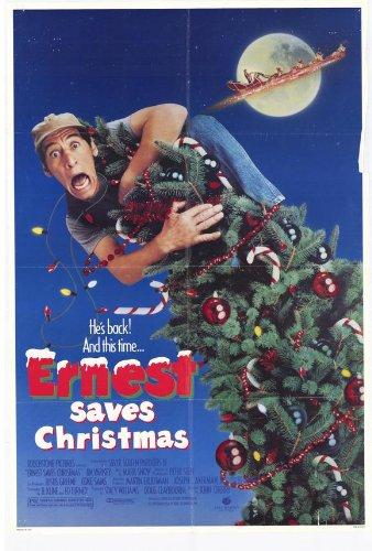 Ernest Saves Christmas Movie Poster (27 x 40 Inches - 69cm x 102cm) (1988) -(Jim Varney)(Douglas Seale)(Oliver Clark)(Noelle Parker)(Billie Bird)