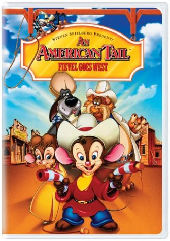 American Tail: Fievel Goes West [Reino Unido] [DVD]
