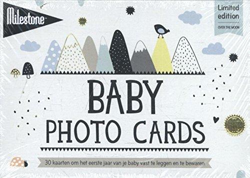 Baby photo cards over the moon: 30 kaarten om het eerste jaar van je baby vast te leggen en te bewaren