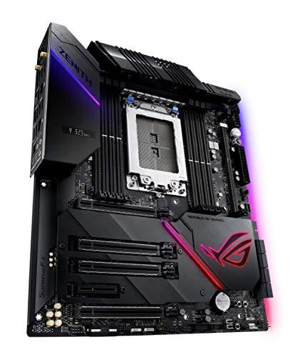 ASUS ROG Zenith Extreme Alpha Scheda Madre Gaming AMD X399 EATX per Processori AMD Threadripper, ROG DIMM.2, DDR4 3600MHz, 802.11ac Wi-Fi, LAN 10 Gbps, USB 3.1 Gen2, SATA, 3x M.2 e Aura Sync RGB