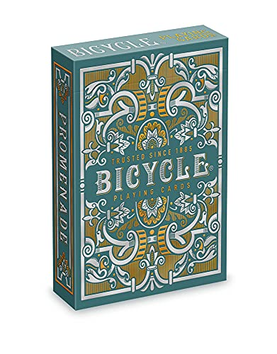 Bicycle Promenade Playing Cards , Green