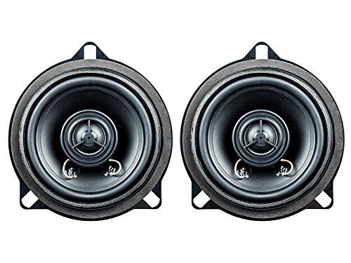 PG Audio BM-4, 10 cm Koaxial Lautsprecher passend für BMW 1er (E81, E82, E87, E88), 3er (E90, E91, E92) 5er (E60, E61), X1 (E84) 1 Paar