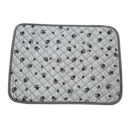 Ulapithi Almohadillas lavables para perros, reutilizables, antideslizantes, para entrenamiento, viajes, protección de alfombras y suelos de madera, 60 x 45 cm