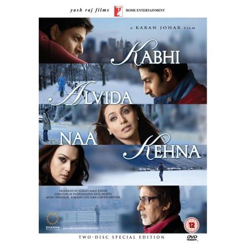 Kabhi Alvida Naa Kehna (Karan Johar / Hindi Film / Bollywood Movie / Indian Cinema) [Edizione: Regno Unito]