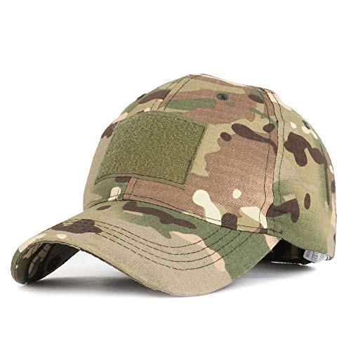 wangtao Camouflage Tactical Baseball Cap Hat Patch Military Tactical Unisex ACU CP Desert Camo Hats for Men Outdoor M