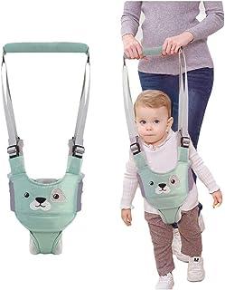 ndador Arnes Bebe, Arnés Para Caminar Para Bebé,Seguridad Asistente Niños Andador Anti Perdido Correa Proposito Doble Para Bebés De 6 A 27 Meses(verde)