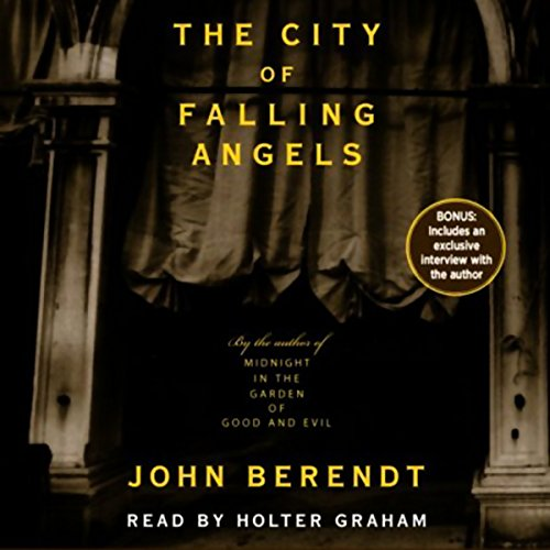 The City of Falling Angels audiobook cover art
