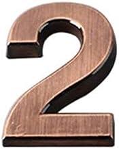 0-9 Modern House Deur Plaque Adres Arabisch Nummer Digit Plate Teken Decoratie Potlood Case Potlood Tassen Schoolbenodigdh...