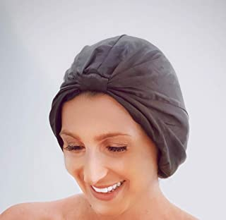 Pure 100% Silk Sleeping Hair Turban.