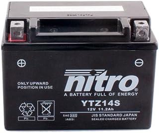 Batterie Nitro YTZ14S GEL, 12V/11,2AH (Maße: 150x87x110) für KTM Adventure 1190 R Baujahr 2015
