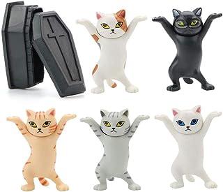 Un gato que puede sostener una pluma una danza de un gato ataúd, los soportes para bolígrafos de danza de ataúd de gato bueqcy Dance Cat Auricular soporte accesorios para Apple AirPods