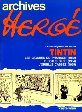 Versions originales des albums Tintin