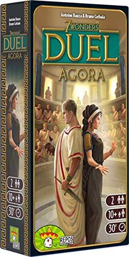 Asmodee - 7 Wonders Duel: Agora, Espansione Gioco da Tavolo, Edizione in Italiano, 8039