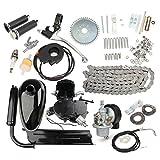 Viviance 80Cc 2-Stroke Bicicleta Motorizada Motor Negro Body Engine Motor Kit