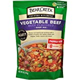 Bear Creek Soup Mix, Vegetable Beef, 9.0 Ounce (Pack of 6)...