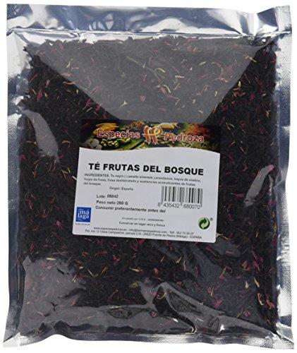 Especias Pedroza Té Frutas del Bosque - 2 Paquetes de 250 gr - Total: 500 gr