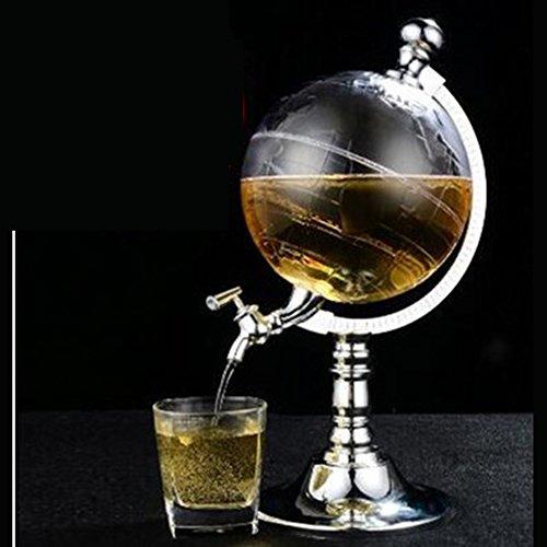 Jarra De Vino, Dispositivo De Distribución De Cerveza Earth Instrumento, Whisky Escocés Bourbon Whisky Vodka Y Vino, 1L, 1.5L, 2L,...