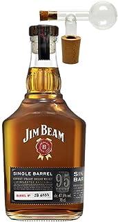 Jim Beam Single Barrel Bourbon Whiskey  1 Glaskugelportionierer