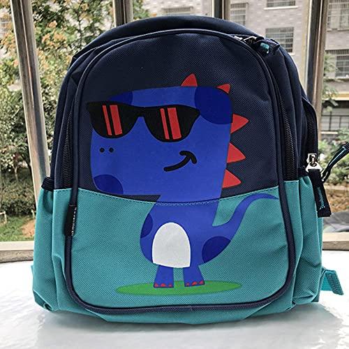 MHIEF Zaino Per Bambini E Bambine,Sacchetti di Scuola dei Bambini del Fumetto Animale del Modello del Dinosauro