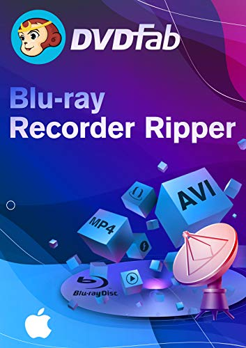 DVDFab Blu-ray Recorder Ripper - 2 Jahre / 1 Gerät für Mac Aktivierungscode per Email