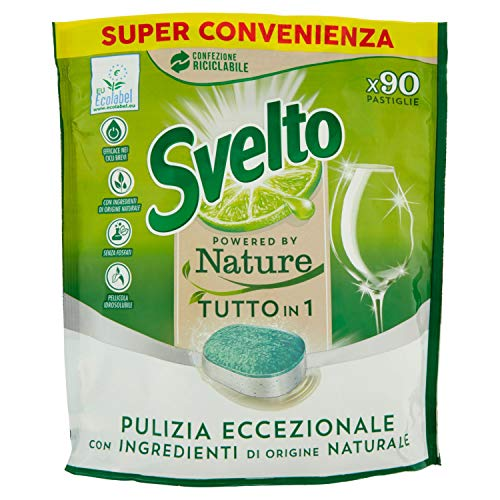 Svelto Powered By Nature, Tutto in 1, 90 Lavaggi