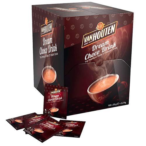 petit un compact 100 capsules de chocolat V.HOUTEN 03014