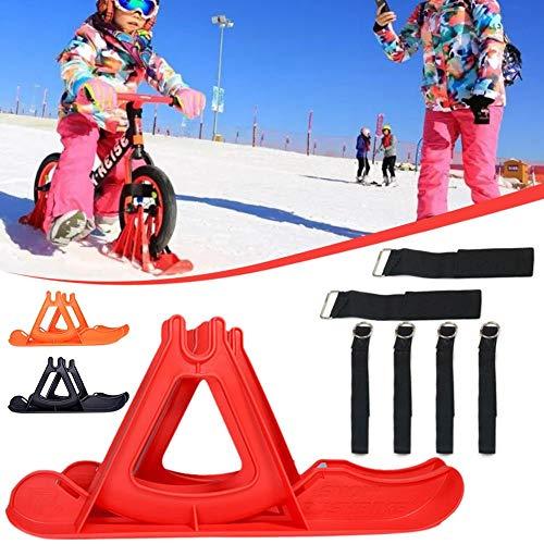 Kinder Snowboard Schlitten Winter Schnee Ski Board Roller Schlitten Schwere Schneeschlitten Skifahren Pad für Kinder Balance Auto 12~14 Zoll Räder