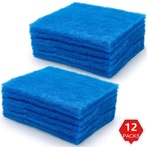 AMI PARTS Bettervent Polyester Filters Replacement for Bettervent Indoor Dryer Vent(12 pack)