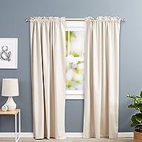cortinas salon 2 piezas con forro