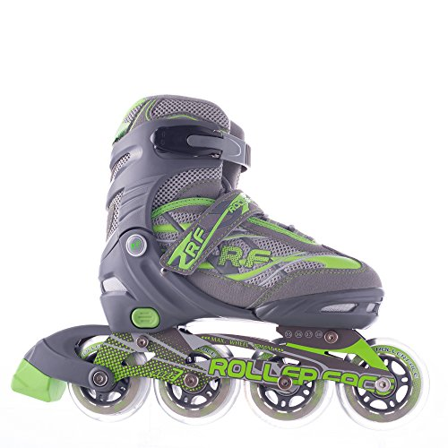 Rollerface Patines Modelo Switch 3, Color Verde, Grande