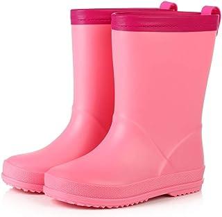 LUFKLAHN Anti-Rutsch-Gummischuhe, Karikatur-Kind-Regen-Aufladungen, Kinder Wasser Schuhe (Color : C, Size : 25)
