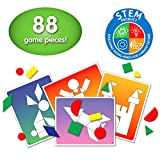 The Learning Journey Match It! - Shape Shuffle - Preschool Toys & Gifts for Boys & Girls Ages 3 and Up - Award Winning Puzzle