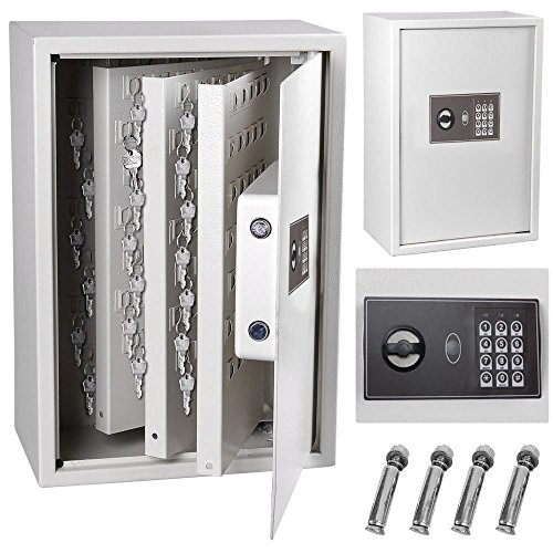 Yescom Electronic Digital Keyless Lock 245 Key Storage Safe