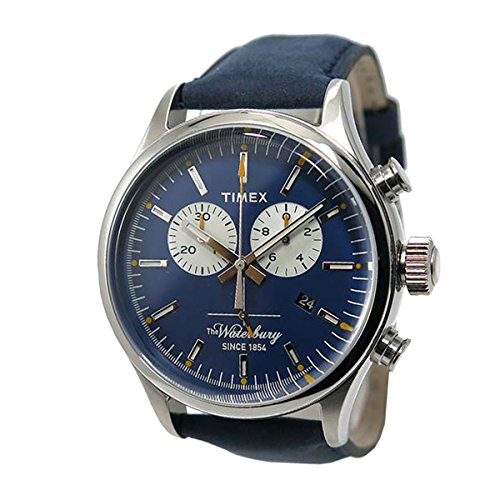 Timex Orologio Analogueico Quarzo Uomo con Cinturino in Pelle TW2P75400